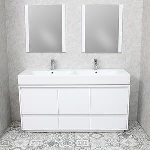 white bathroom vanity mirror cabinets